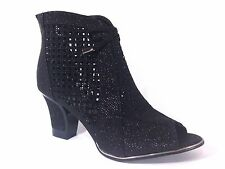 Women Evening Dress Shoes Rhinestones Boots High Heels Platform Wedding Net