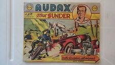 BD AUDAX MAX SUNDER CONTRE LES ESPIONS ATOMIQUES N°28 1950