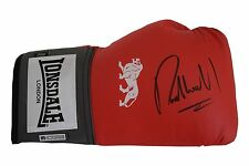 Richie Woodhall SIGNED Boxing Glove Autograph Lonsdale AFTAL PROOF Sport COA