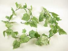155cm Artificial Silk Greenery Green Leaves Grape Garland for Conservatory