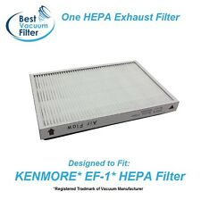 One HEPA Exhaust Vacuum Filter for Kenmore EF1 replace 20-53295, 20-86889, 40324