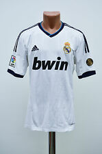 REAL MADRID SPAIN 2012/2013 HOME FOOTBALL SHIRT JERSEY CAMISETA ADIDAS