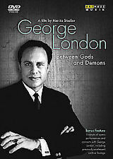 George London: Between Gods and Demons DVD NEW/FACTORY SEALED * dispatch in 24hr