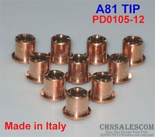 10 PCS A81 Trafimet  Plasma Cutter Torch TIP PD0105-12 Made in Italy