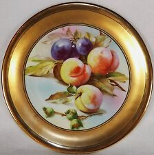 MAGNIFICENT!  ANTIQUE SILESIA  CT ALTWASSER PLATE FRUIT CIRCA 1925 RARE!