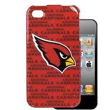 NFL Arizona Cardinals iPhone 4 4s Hard Case Mobile Phone Skin Cover Shell