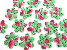 60 Green Watermelon Summer Print Cotton Flower Applique/Fruit/trim/fabric H231