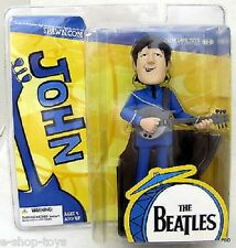MCFARLANE THE BEATLES SATURDAY MORNING CATOON ANIMATED JOHN FIGURE (RETIRED)