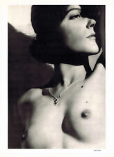 MAN RAY BEAUTIFUL NUDE PHOTOLITHOGRAPH VERVE 1937