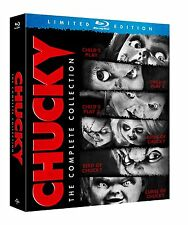 Chucky Child's Play 6 Film Complete Collection Blu-ray Boxset Boxed Set New