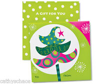 lot 12 Whimsical Celebration Tree Holiday Christmas Gift Card Holders Whoville