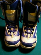 Liquid Blue and Gray Snowboard Boots U.S. 8 Womens Ladies