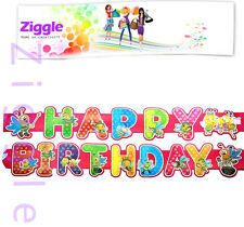 Premium Happy Birthday banner decorated with glitter very high quality unique