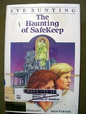 THE HAUNTING OF SAFEKEEP BY EVE BUNTING 1985 LIBRARY BINDING RARE ITEM