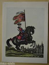Carte de Voeux du 16eme Régiment de  Dragons  **** A Voir ****