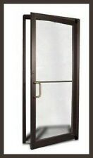 commercial aluminum storefront door frame dark bronze finish ebay