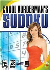 Carol Vorderman's Sudoku - PC, New Windows XP, Pc Video Games