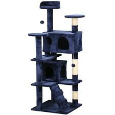 """New 52""""Cat Tree Tower Condo Furniture Scratch Post Kitty Pet House Play"""