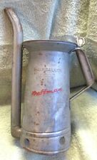 HUFFMAN HALF GALLON APPROVED No. 142 OIL CAN WITH TILTING SPOUT