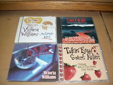 VICTORIA WILLIAMS lot 4xCD loose THIS MOMENT IN TORONTO talkin bout SWEET RELIEF
