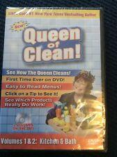 NEW! Linda Cobb Queen of Clean! Volumes 1 & 2: Kitchen & Bath DVD