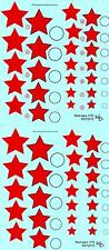 KV Decals 1/72 SOVIET EARLY RED STARS TYPE 3 Russian National Markings