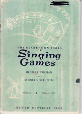 The Clarendon Books of Singing Games-1960s-Sheet Music