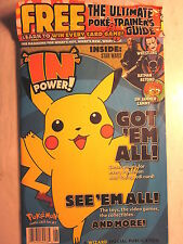 IN POWER! Magazine #3 with Power Guide to Playing POKEMON (1999/Sealed/New)