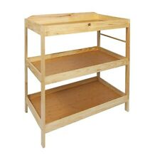 Woodluv Baby Changing Dresser Station Unit, Babys Changing Table Unit