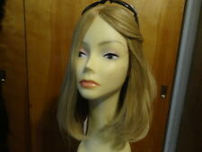 Malky European Multidirectional Hair Kosher Wig Sheitel Blonde  24/14/12 small