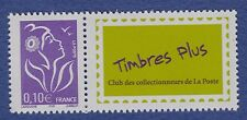 """40d**Timbre FRANCE Neuf**MNH TBE """"Timbre plus"""" 2006 (n°3916A+vignette) MARIANNE"""