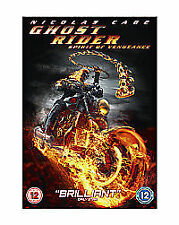 Ghost Rider 2 - Spirit Of Vengeance - REGION 2 DVD - NICOLAS CAGE