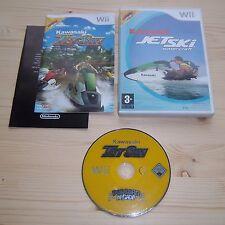Wii Wii U Kawasaki Jet Ski - Complet