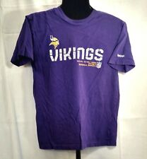 NFL Minnesota Vikings l large 14-16 womens t shirt short sleeve