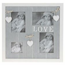 Provence Grey Collage Multi Photo Frame - Holds 4 Photos  NEW  26222