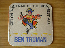 Ben Truman's Brown Ale - 1960's / 1970's beer mat, part of a set