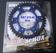 Supersprox Sprocket Yamaha FZ-1 Fazer, RN16, 45 Tooth, RST479-45, stealth, blue