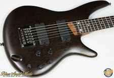 Ibanez SRC6 Crossover 6-String Electric Bass, Flat Walnut, NEW! #34550