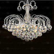 Luxury 3-lights Crystal Ceiling Chandelier Pendant Fixture Lighting Lamp Living