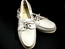 Sioux Mox Moccasin Boat Shoe Men's 8 M Color Bone Worn Once