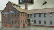N scale laser cut factory building kit