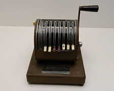 Vintage Paymaster Series 400  Model American Checkwriter & Protector