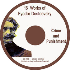 "16 Works of Fyodor Dostoevsky Collection  ""Crime and punishmentl"""