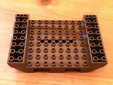 LEGO 6054 @@ Boat Hull Small Middle 8 x 12 - 6271 brown