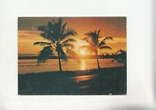 BF28168 coucher de soleil  sunset morocco   front/back image