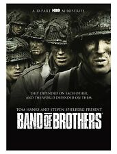 BAND OF BROTHERS A 10 PART HBO MINISERIES NEW DVD TOM HANKS STEVEN SPIELBERG
