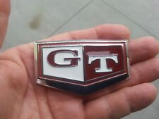 ~ GT METAL RED EMBLEM suits DATSUN C210 Badge Nissan Skyline C110 *NEW!*