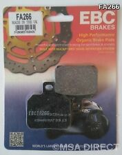 Ducati Hypermotard 796 (2010 to 2012) EBC Kevlar REAR Brake Pads (FA266) (1 Set)
