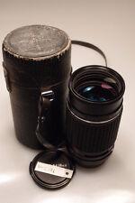 SMC PENTAX-M 200mm f4 K MOUNT LENS EXCELLENT++++ W/CASE