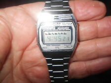 Vintage Mens Seiko Alba Quartz Alarm Chronograph Digital Watch RARE Y709-4000